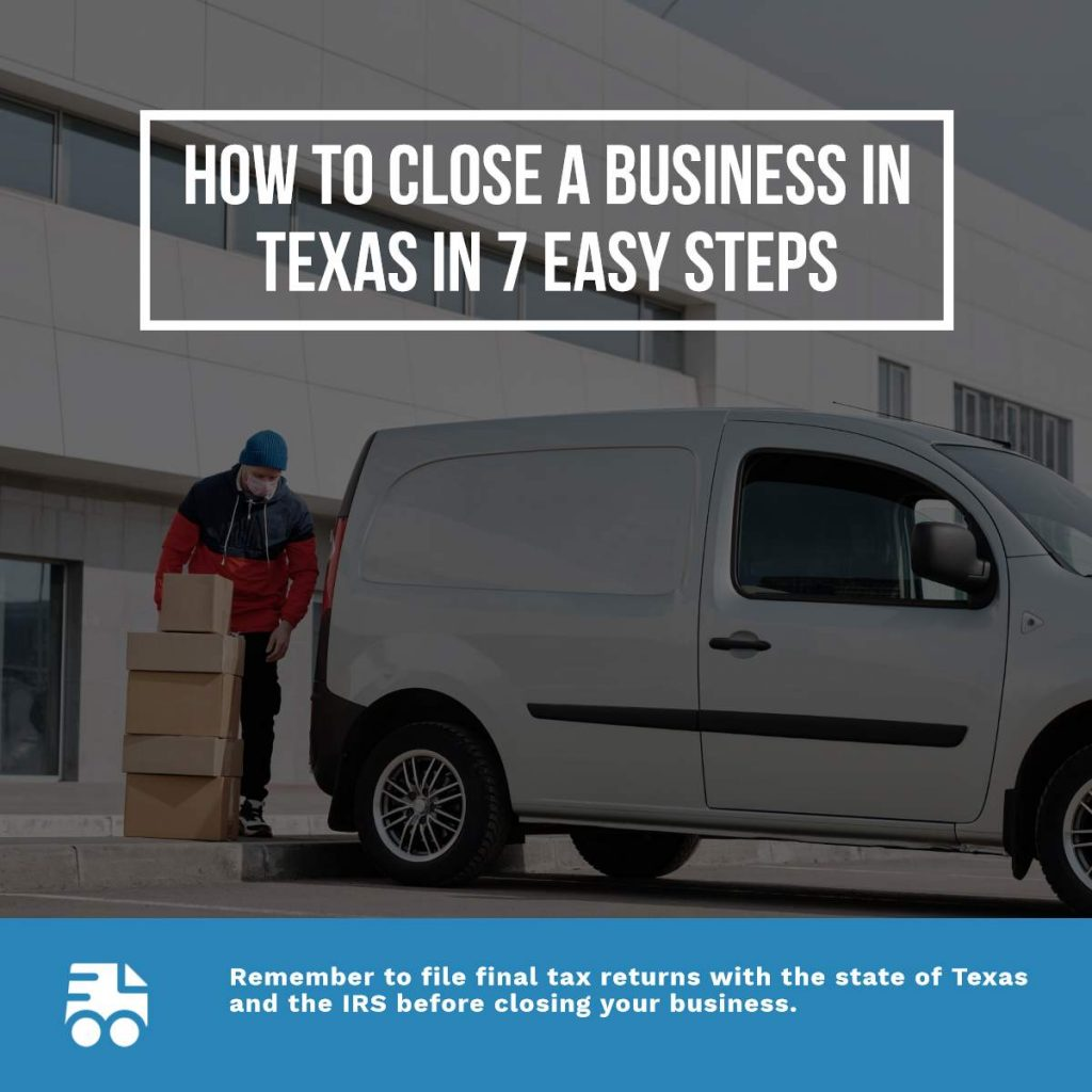 How to Close a Business in Texas